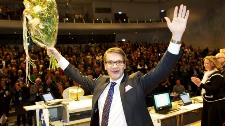 Göran Hägglund utmanades om partiledarposten av Mats Odell. Foto: Olle Sporrong