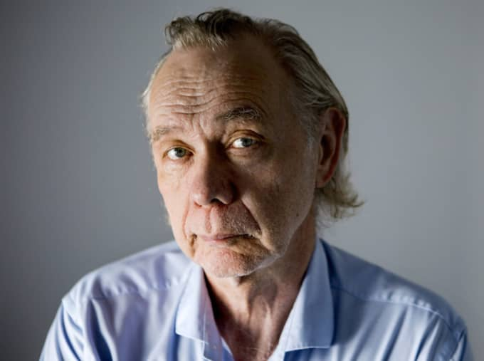 Kjell Alinge har gått bort. Nu berättar hans hustru om sorgen. Foto: Christine Olsson / Tt