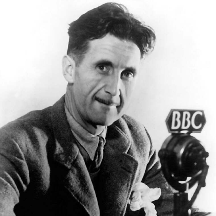 POPULÄR PATRIOT. George Orwell var en underhållande moralist.