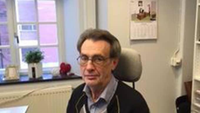 Arne Janson, förvaltare på Göteborgs stads lokalförvaltning.
