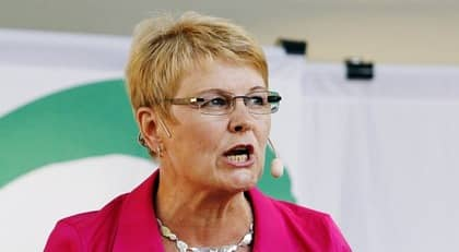 Maud Olofsson. Foto: Cornelia Nordström