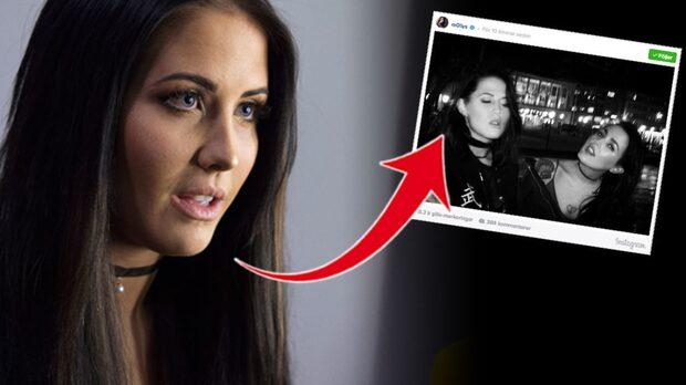 Detaljen i Molly Sandéns bild väcker stor ilska