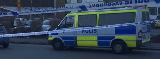 Flera personer blev vittnen till en misstänkt skottlossning i Mölndal. Foto: Björn Lindsten