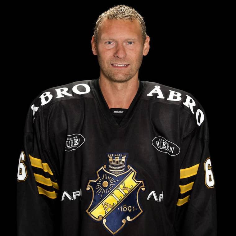 Dick Tärnström, AIK. Foto: Stig Kenne