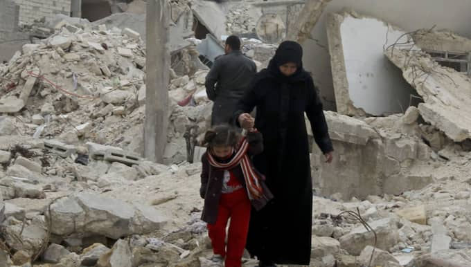Syrien. Foto: Erhan Sevenler / Tt