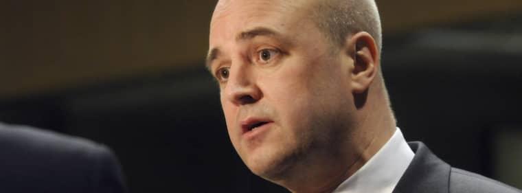 Fredrik Reinfeldt. Foto: Thierry Charlier