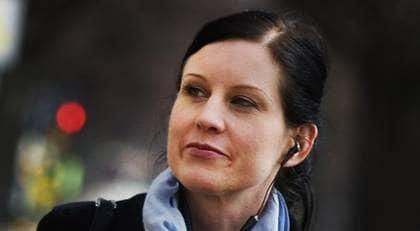 Linda Skugge. Foto: SCANPIX
