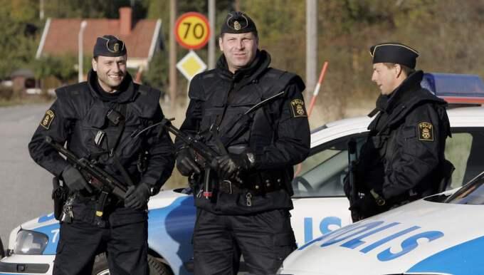 Sverige höjer terrorberedskapen. Foto: Mikael Sjöberg