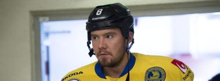 Nicklas Grossmann. Foto: Roger Vikström
