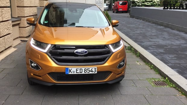 Fords nya suv lanseras i Sverige