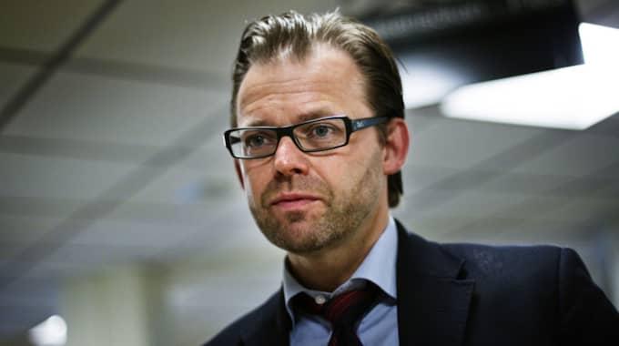Nerijus Bilevicius kommer får Julian Assanges advokat Björn Hurtig i stället. Foto: Anders Ylander