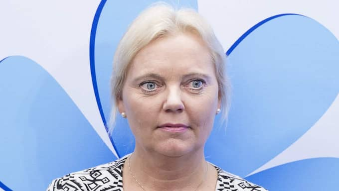 Kristina Winberg (SD). Foto: Tommy Pedersen