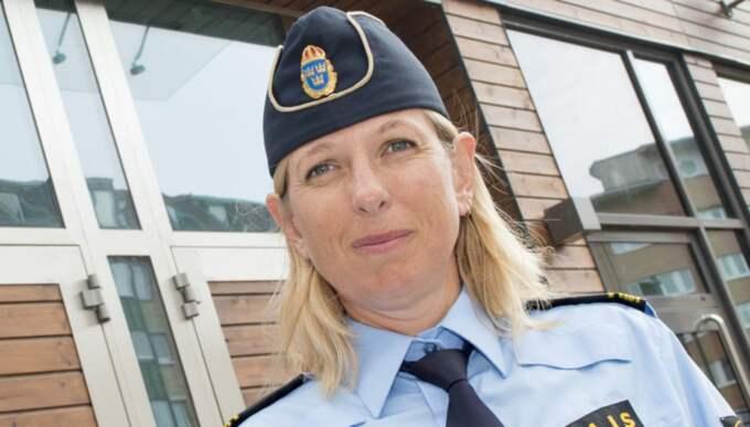 – Det har upprättats en anmälan om mord, säger Linda Pleym, presstalesman på polisen region syd. Foto: Tomas Leprince