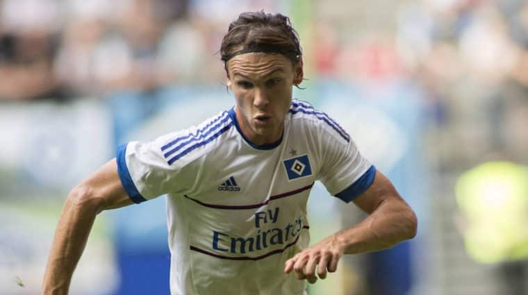 Albin Ekdal är tillbaka i Hamburgs matchtrupp. Foto: Imago Sportfotodienst