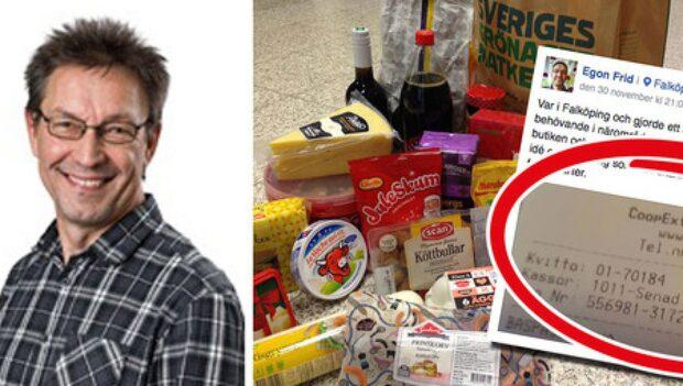 Egon Frid hyllar kassen för de lottlösa