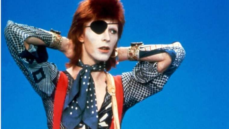 Lars Lindström minns David Bowie. Foto: Barry Schultz/Sunshine/Retnauk