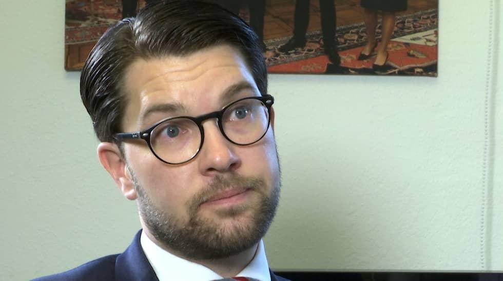 SD-ledaren Jimmie Åkesson är först ut i Niklas Svenssons serie julintervjuer med riksdagspartiernas ledare.