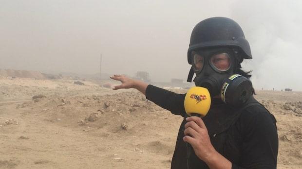 IS sprängde svavelfabrik - svavelgas över norra Irak