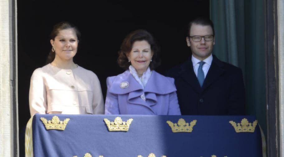 ... medan Silvia, Victoria och Daniel tittade på. Foto: Suvad Mrkonjic