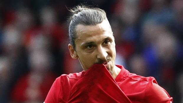 Zlatan bänkad när United krossade Fenerbahce
