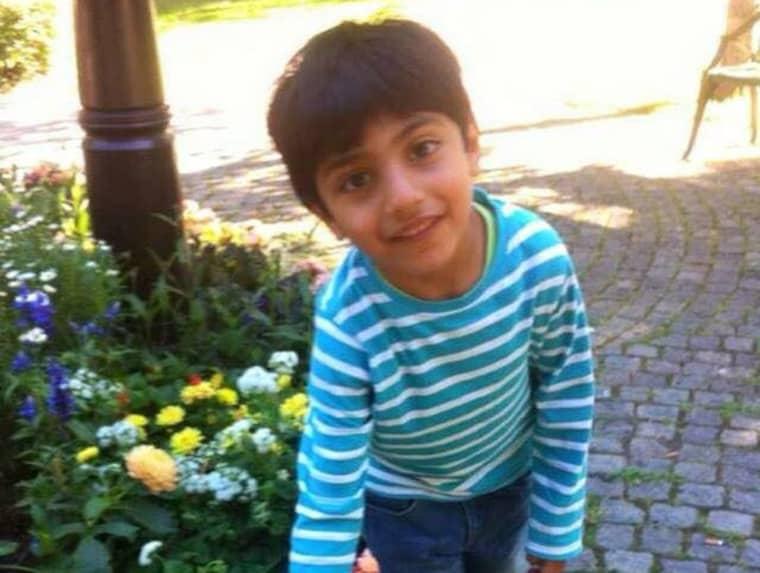 Sexåriga Hade skickades hem från sjukhuset. Foto: Privat