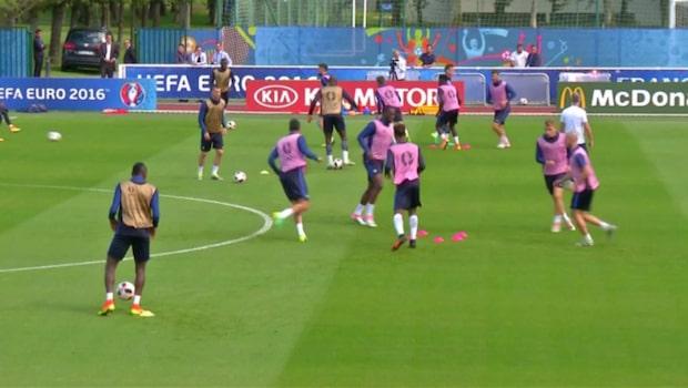 Frankrike och Portugals väg till EM-finalen