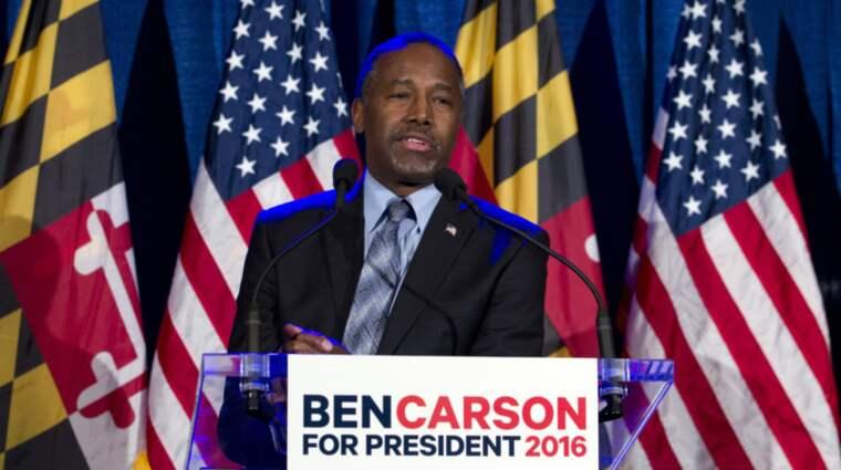 Ben Carson har fått nog – han ställer in sin presidentvalskampanj. Foto: Jose Luis Magana