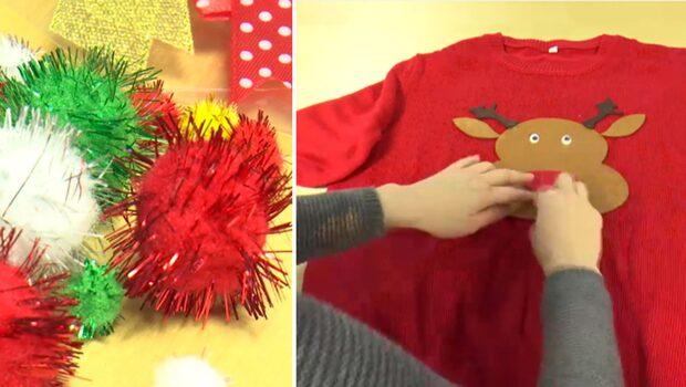 Så fixar du coolaste tröjan till julfesten