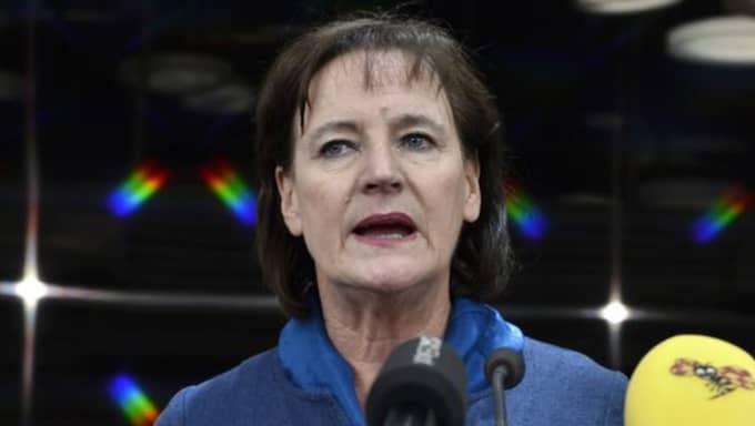 Kommunals förbundsordförande Annelie Nordström. Foto: Claudio Bresciani/Tt