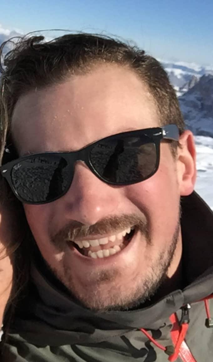 """""""Fantastiskt, helt fantastiskt! De har verkligen lyckats,"""" säger Oscar Carl Olof, 29, om nya prinsens namn. Foto: Privat"""