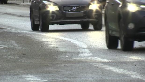 Trafikverkets skarpa varning för blixthalka