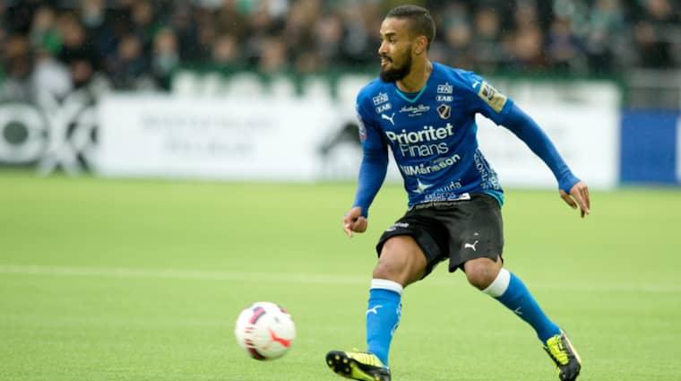 Halmstads BK föll på sin 102-årsdag mot IFK Göteborg med 2-0. Men laget är trots det vidare i Svenska cupen. Foto: Magnus Liljegren / All Over Pres