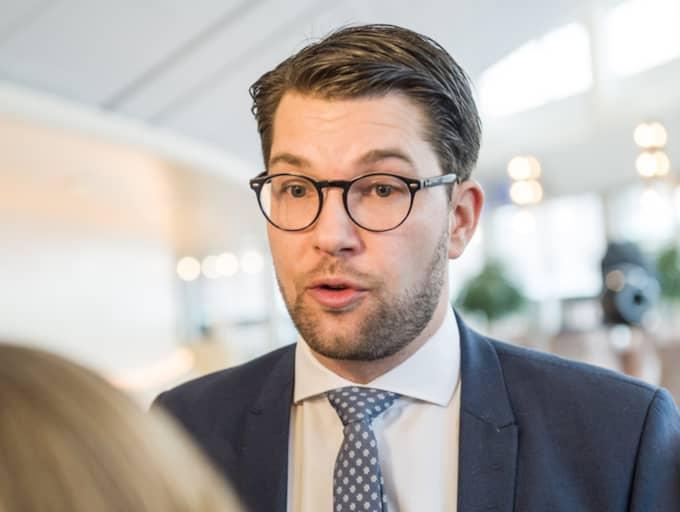 Jimmie Åkesson. Foto: Pelle T Nilsson