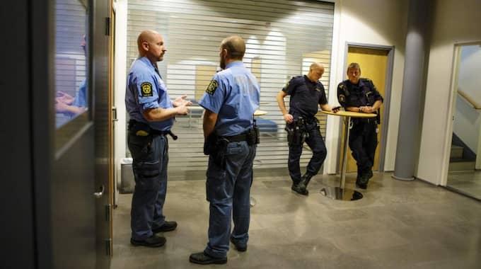 Enligt åklagaren ska han ha strypt ex-flickvännen till döds. Foto: Henrik Jansson