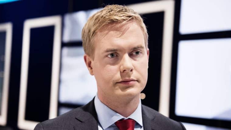 Utbildningsminister Gustav Fridolin. Foto: Anna-Karin Nilsson