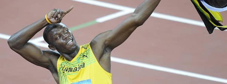 Usain Bolt toppar SportExpresens ranking över de största stjärnorna i OS. Foto: Xing Guangli
