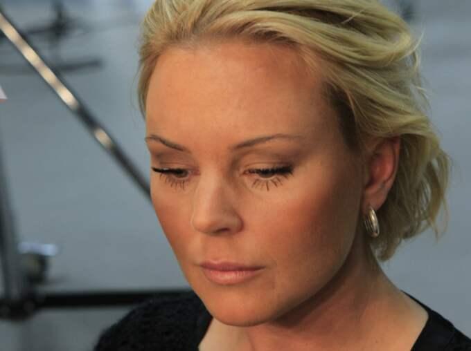 Magdalena Graaf skriver om sin hjärnblödning i bloggen. Foto: Cornelia Nordström