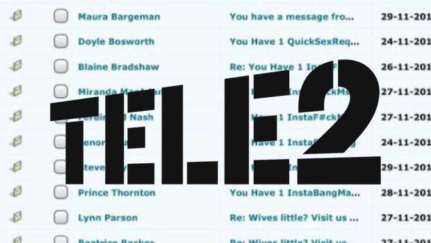 Tele 2:s haveri: Tusentals porrmejl till arga kunder