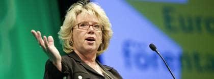 Lena Ek (C) kandiderar till EU-parlamentet. Foto: Alexander Von Sydow/Scanpix