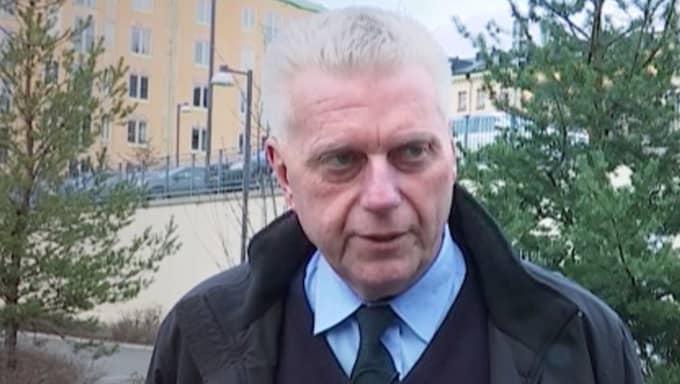 Polisen Åke Rimborn var den första polisen som pratade med Lisbet Palme. Han är övertygad om att Lisbet Palmes första uppgifter var att det finns två gärningsmän. Foto: EXPRESSEN