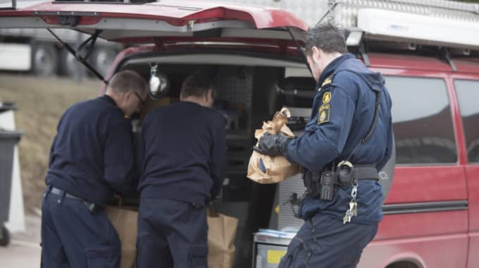 Enligt polisen ska skadorna ha uppstått på ett asylboende. Foto: Henrik Hansson