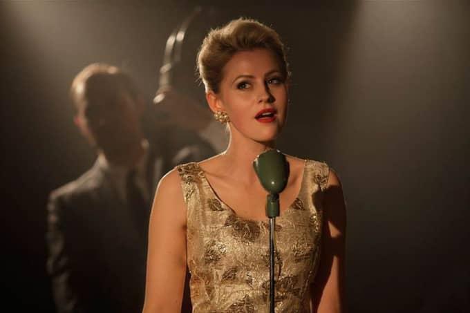 Edda Magnason imponerar som Monica Zetterlund.