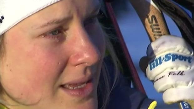 """Falks tårar: """"Så mycket känslor"""""""