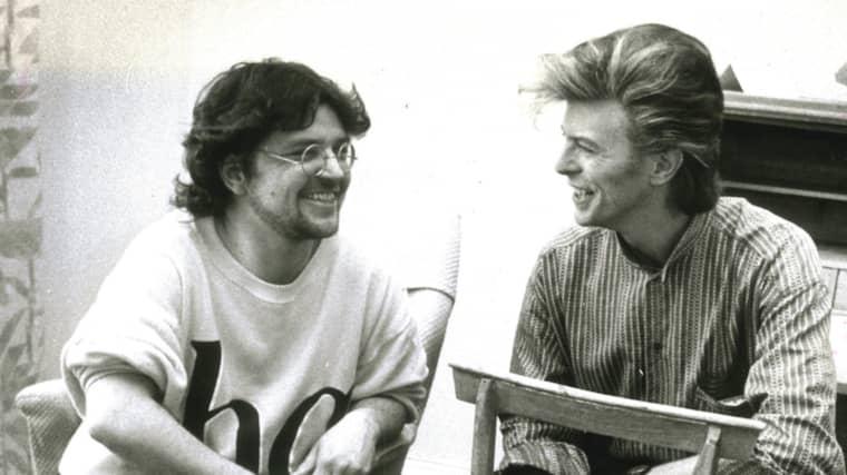 Bowie i en intervju med Expressen Foto: Torbjörn Selander