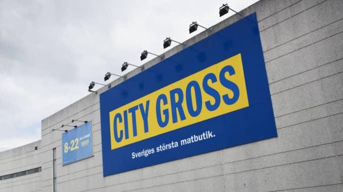 """Det var på butikskedjan Citygross som """"erbjudandet"""" fanns. Foto: Theo Elias Lundgren"""