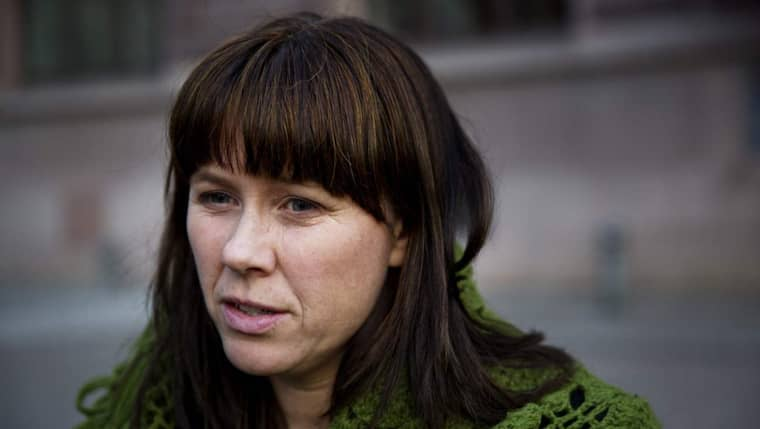 Miljöminister Åsa Romson. Foto: Lisa Mattisson