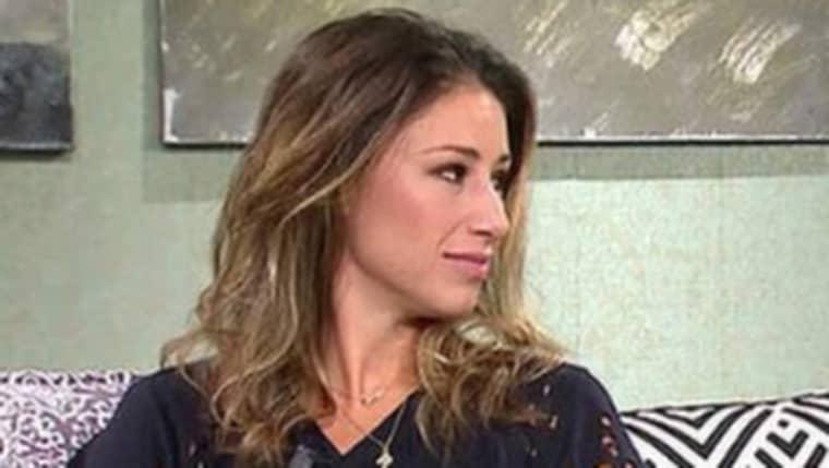 """Katrin Zytomierska fick massiv kritik för sina uttalanden i """"Malou efter tio"""" i TV4. Foto: TV4"""