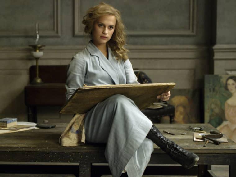"""Alicia Vikanders film """"The danish girl"""" förbjuds i Mellanöstern."""