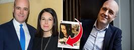 Reinfeldts första ord – om dottern