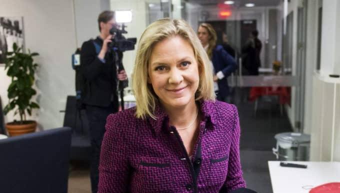 Valtaktiken klar. Magdalena Andersson, ekonomisk-politisk talesperson. Foto: Suvad Mrkonjic